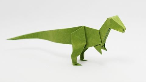 Origami-velociraptor